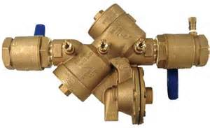 residential backflow device