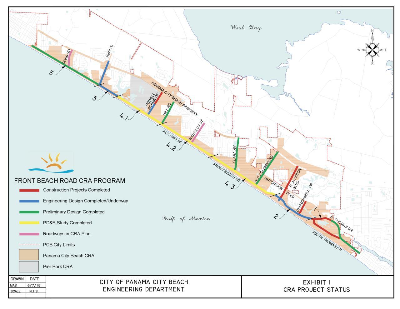 CRA Limits | City of Panama City Beach, FL