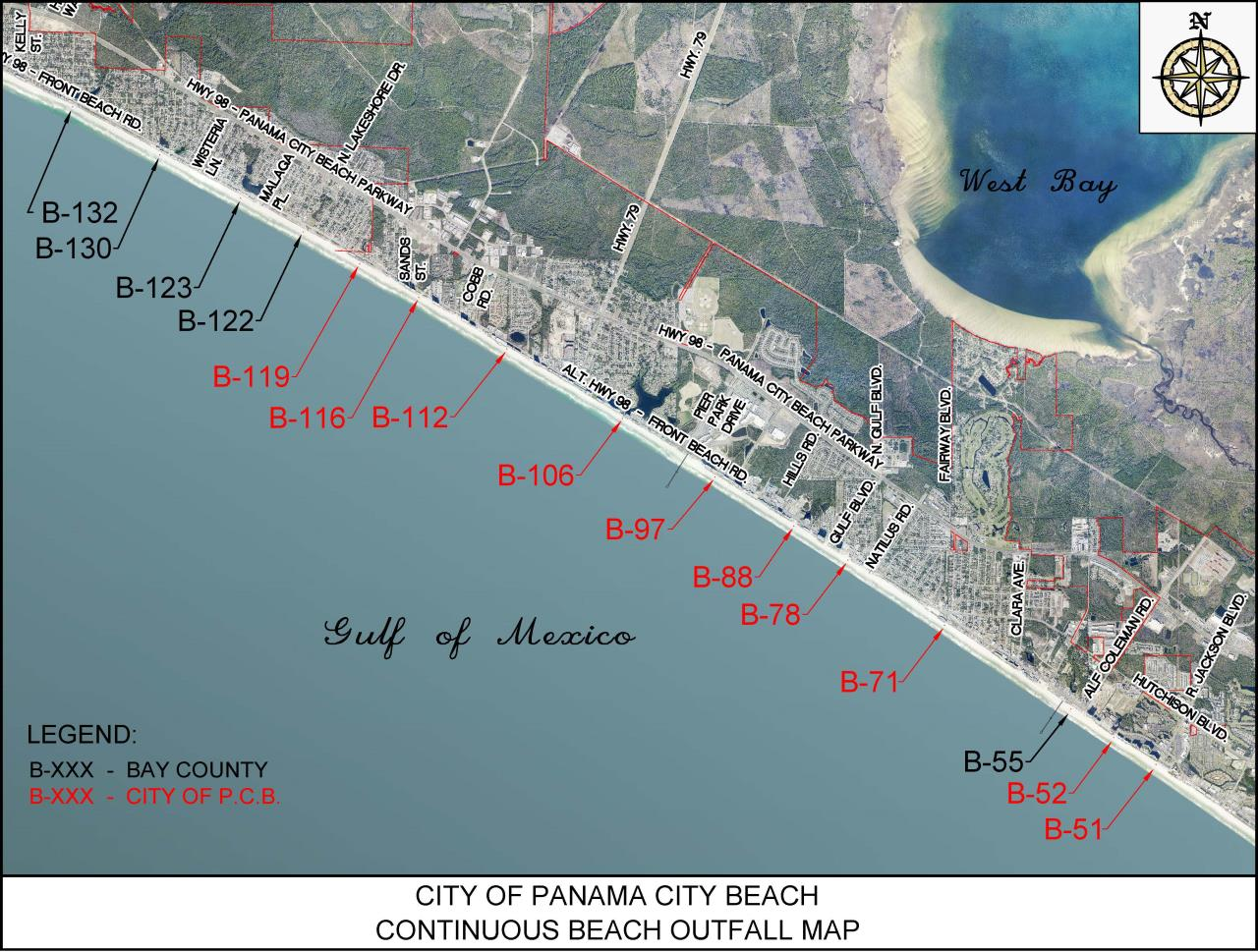 PCB beach outfall EXHIBIT